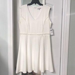 White sleeveless dress. NWT!!